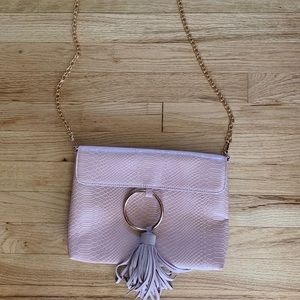 Anthropologie Recharged Ring clutch/crossbody